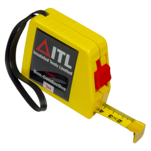Insulated 3 Metre Non Conductive Tape Measure